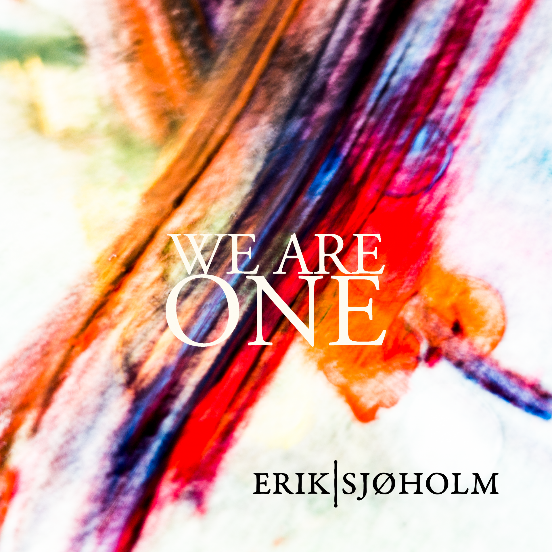 We are one, cover art